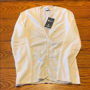 NWT Johnston's of Elgin 100% Cashmere Sweater